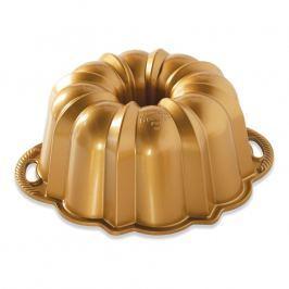 Nordic Ware Forma na bábovku Anniversary zlatá, velká