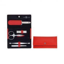 Zwilling Twinox manikúra Asian Competence, červená kůže, 5 ks NOVE