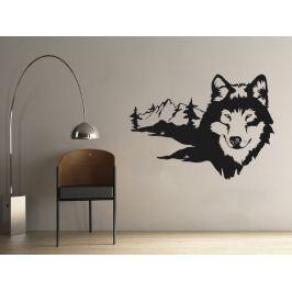 Samolepka na zeď Husky 002