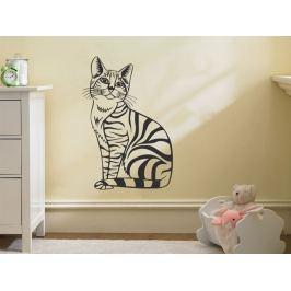 Samolepka na zeď Kočka 003
