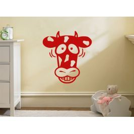 Samolepka na zeď Kráva 002