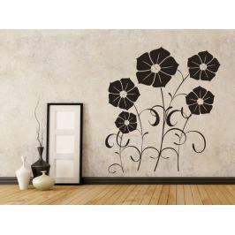 Samolepka na zeď Květiny 001
