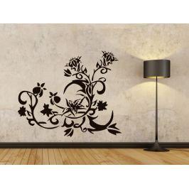 Samolepka na zeď Květiny 009