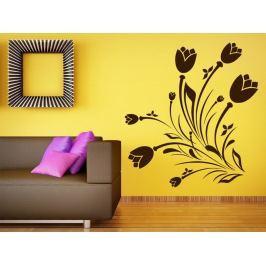 Samolepka na zeď Květiny 038