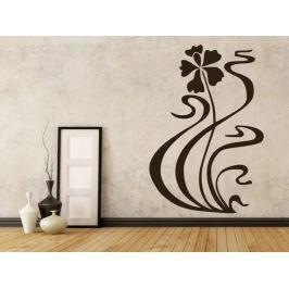Samolepka na zeď Květiny 045