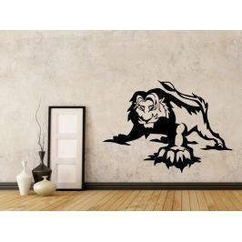 Samolepka na zeď Lev 011