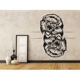 Samolepka na zeď Lev 014
