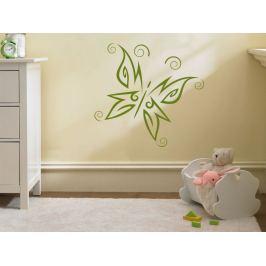 Samolepka na zeď Motýl 002