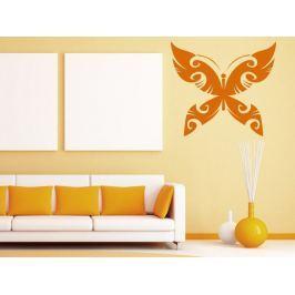 Samolepka na zeď Motýl 015
