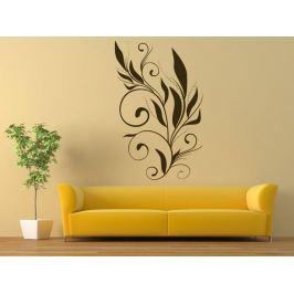 Samolepka na zeď Ornamenty z rostlin 001