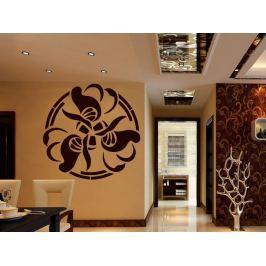 Samolepka na zeď Ornamenty z rostlin 012