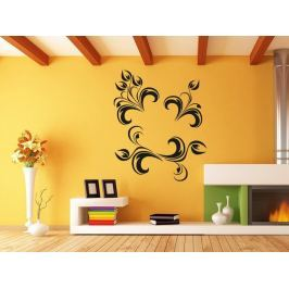 Samolepka na zeď Ornamenty z rostlin 013