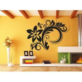 Samolepka na zeď Ornamenty z rostlin 030
