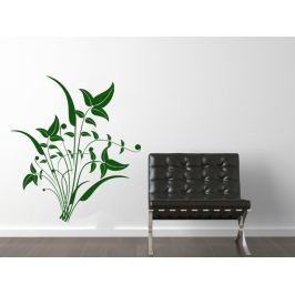 Samolepka na zeď Ornamenty z rostlin 044