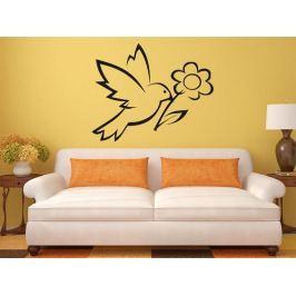 Samolepka na zeď Pták 017