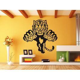 Samolepka na zeď Tygr 003