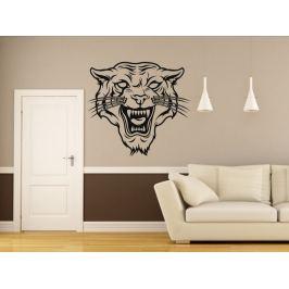 Samolepka na zeď Tygr 006