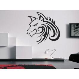 Samolepka na zeď Vlk 001