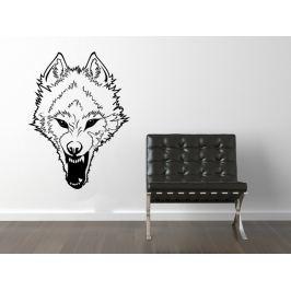 Samolepka na zeď Vlk 003