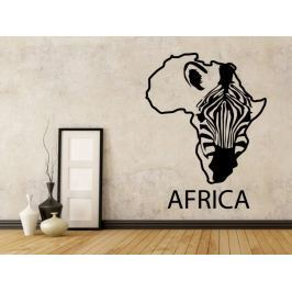 Samolepka na zeď Zebra 009