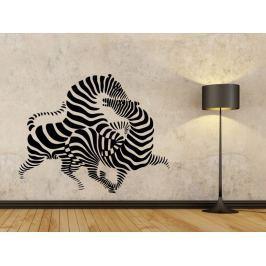 Samolepka na zeď Zebra 010