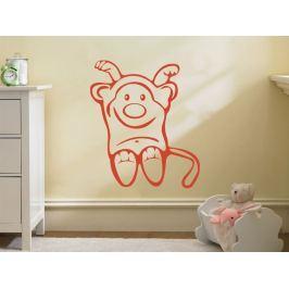 Samolepka na zeď Opička 003