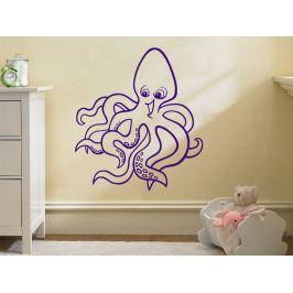 Samolepka na zeď Chobotnice 001