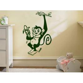 Samolepka na zeď Opička 006