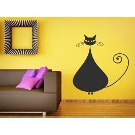 Samolepka na zeď Kočka 008