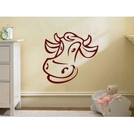 Samolepka na zeď Kráva 006