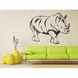 Samolepka na zeď Nosorožec 001
