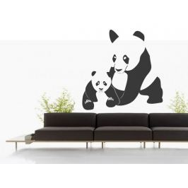 Samolepka na zeď Panda 001