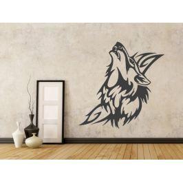 Samolepka na zeď Vlk 004
