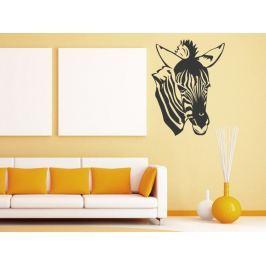 Samolepka na zeď Zebra 017