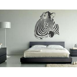 Samolepka na zeď Zebra 018