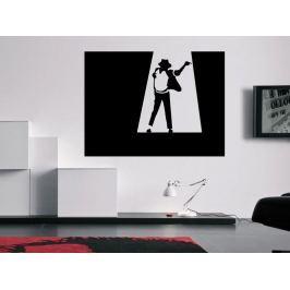 Samolepka na zeď Michael Jackson 004