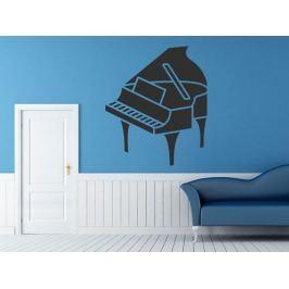 Samolepka na zeď Piano 003