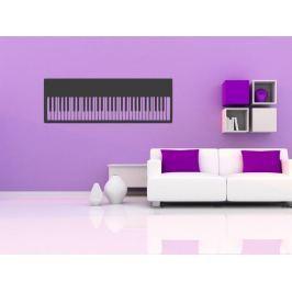 Samolepka na zeď Piano 005