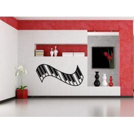 Samolepka na zeď Piano 007