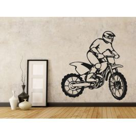 Samolepka na zeď Motorka 010