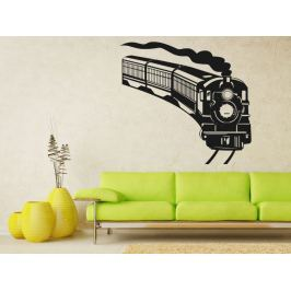 Samolepka na zeď Vlak 006