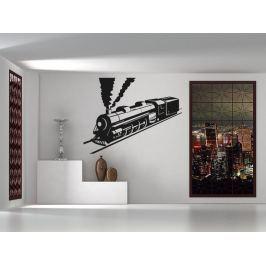 Samolepka na zeď Vlak 007