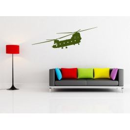 Samolepka na zeď Helikoptéra 001