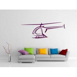 Samolepka na zeď Helikoptéra 002