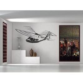 Samolepka na zeď Helikoptéra 003
