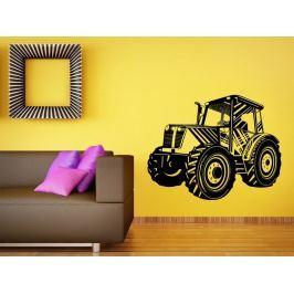 Samolepka na zeď Traktor 003