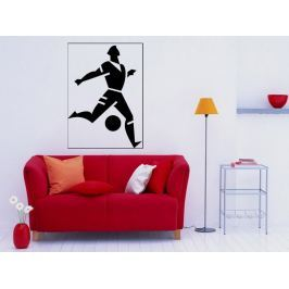 Samolepka na zeď Fotbalista 010
