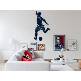 Samolepka na zeď Fotbalista 018