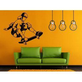 Samolepka na zeď Skateboardista 007