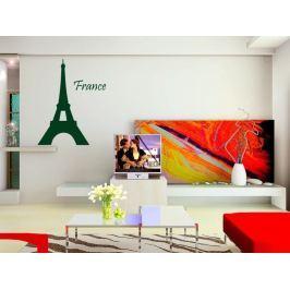 Samolepka na zeď Eifelova věž 005